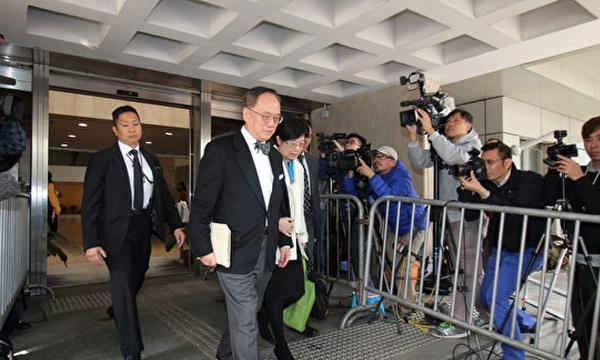 """Tăng Âm Quyền, cựu Đặc khu trưởng Hồng Kông đã bị thành lập án với tội danh """"công chức có hành vi không thỏa đáng"""", sẽ tuyên án ngày 22/2."""