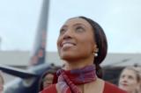 Brussels Airlines làm lại quảng cáo 15 năm trước với cùng diễn viên chính