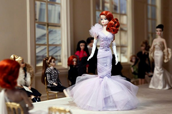 Búp bê Barbie. (Ảnh: Thierry Chesnot/Getty Images)