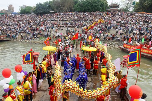 Lễ hội đến Dạ Trạch (Ảnh: internet)