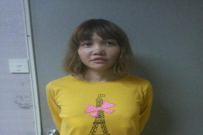 Ảnh nghi phạm Đoàn Thị Hương do cảnh sát Malaysia công bố (qua Reuters)