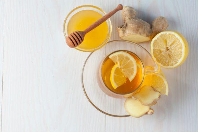 Gừng + mật ong + chanh, bộ 3 tuyệt vời cho hệ miễn dịch (Ảnh: Shutterstock)