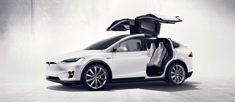 Mẫu xe Model X của Tesla