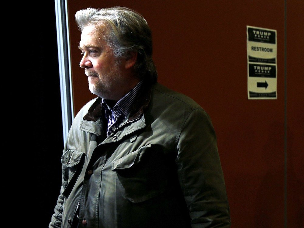 Steve Bannon (ảnh: Carlo Allegri/Getty Images)