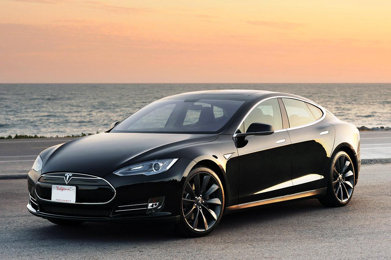 Mẫu xe Model S của Tesla