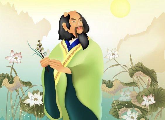 Thần Nông, thủy tổ của nông nghiệp và Đông y (tranh vẽ qua Epoch Times)