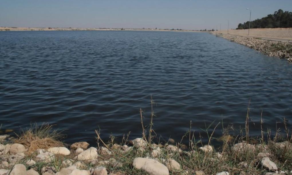 Nước cống đã qua xử lý, dùng để tưới cho khu rừng Serapium (ảnh: dw.com)