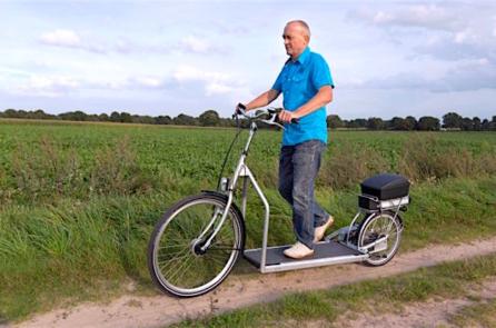 'Xe đạp đi bộ' – Phát minh tình cờ thú vị của người Hà Lan