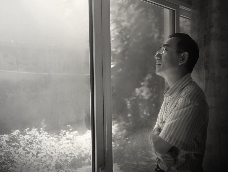 Ông Sun Yi ở Bắc Kinh (Ảnh do NVCC)