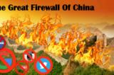 Mục tiêu của Great Firewall nhằm giữ vị thế quyền lực của đảng Cộng sản Trung Quốc.