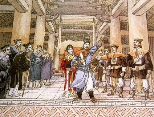 Bản ngọc phả kể việc vua Lê Đại Hành phong quý phi làng Tó