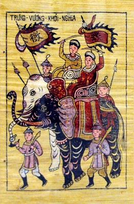Lừng danh sử Việt: Đội quân duy nhất thế giới từ vua đến tướng đều là phụ nữ