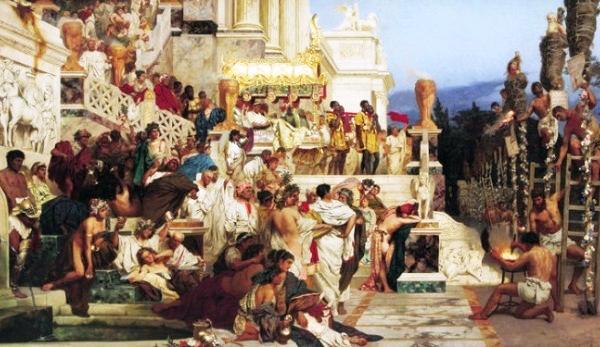 «Ngọn đuốc của Nero» (Nero's torches) kể lại câu chuyện Hoàng đế La Mã Nero (37 - 68) bức hại tín đồ Cơ Đốc giáo.