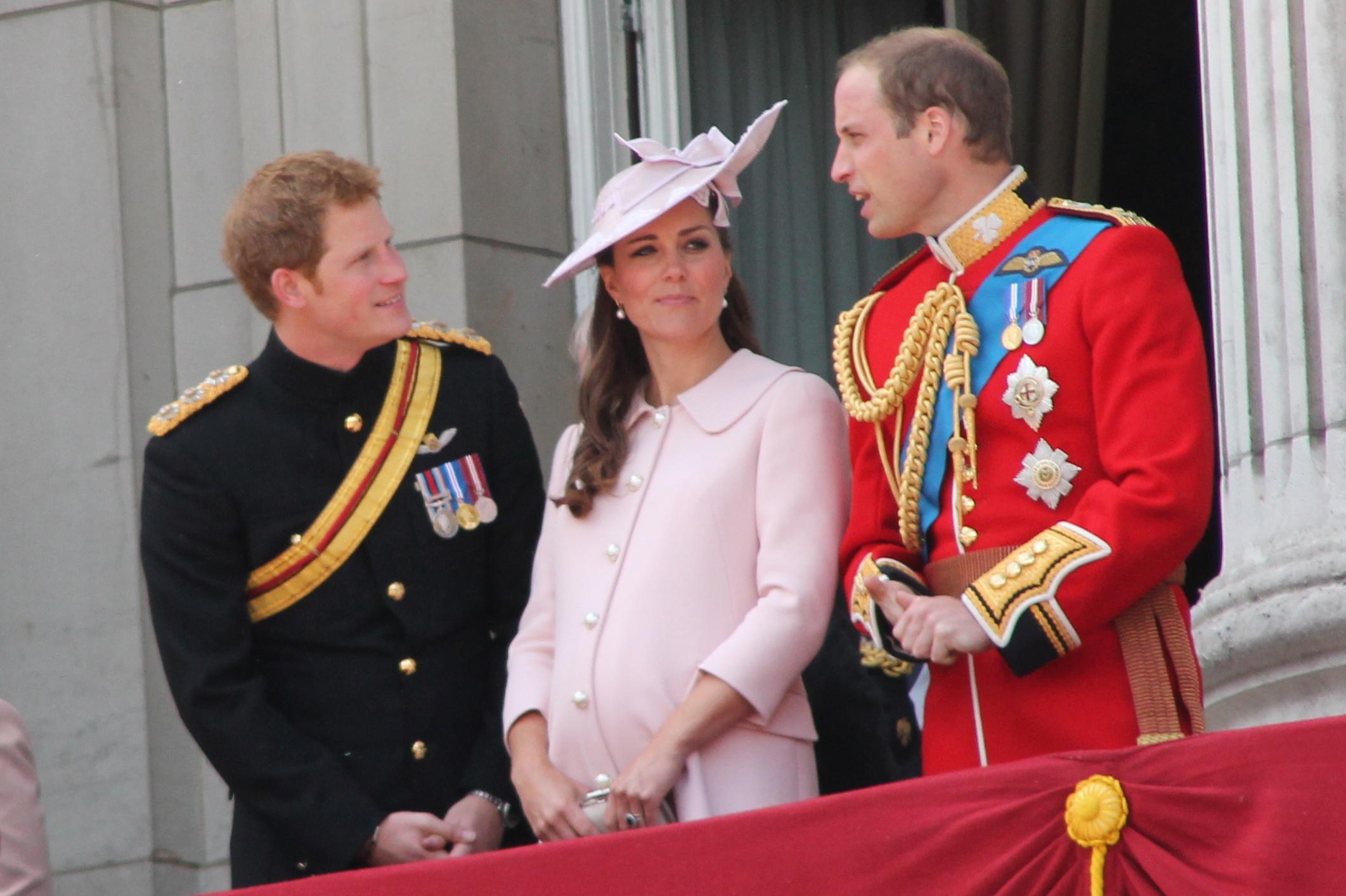 William và Hoàng tử Harry (Ảnh: wiki)