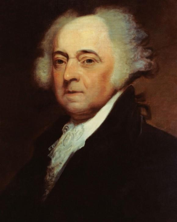 Chân dung Tổng thống John Adams (1735-1826), Tổng thống thứ 2 của Hoa Kỳ