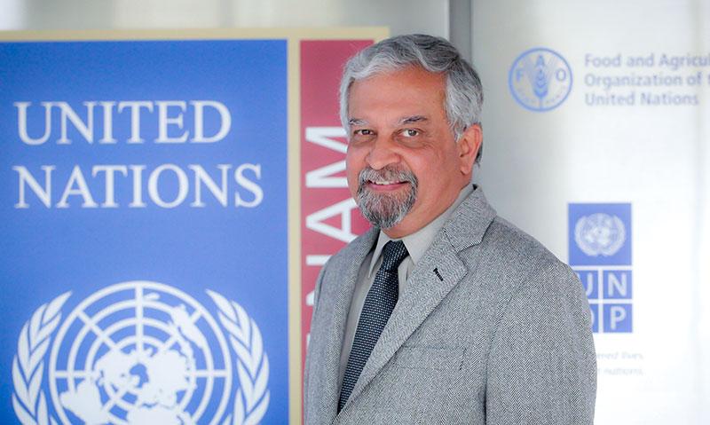 Ông Kamal Malhotra,