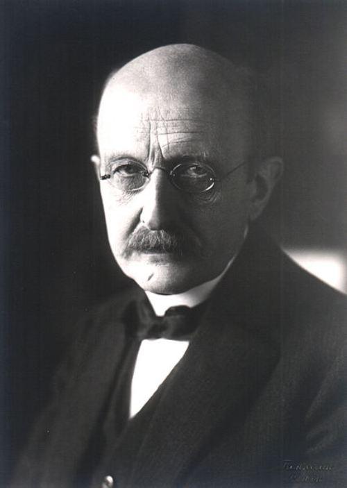 Max Planck được xem là một trong những người sáng lập của cơ học lượng tử. Ông được trao giải Nobel Vật lý năm 1918 (ảnh: Wiki)