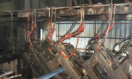 vỡ đường ống dẫn dầu