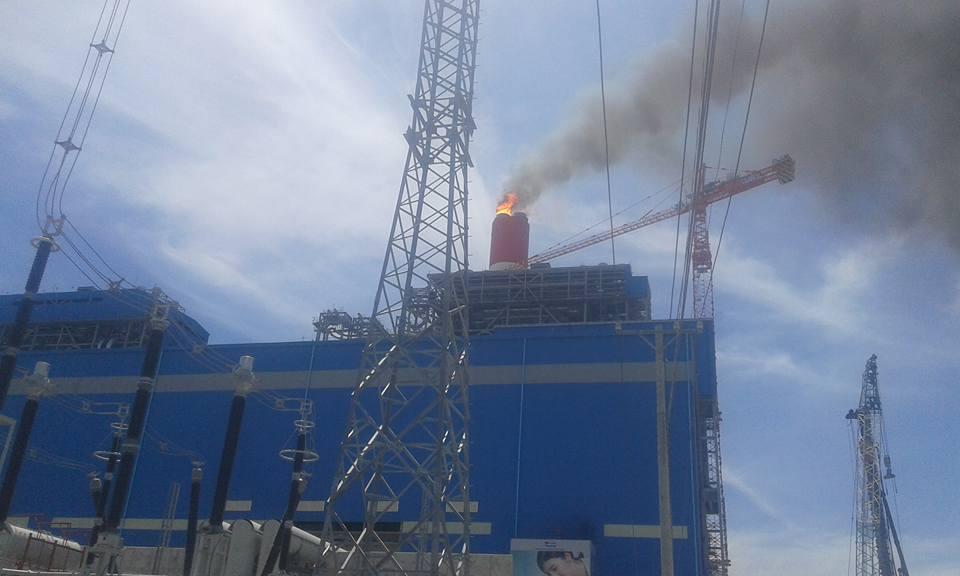 nổ nhà máy nhiệt điện