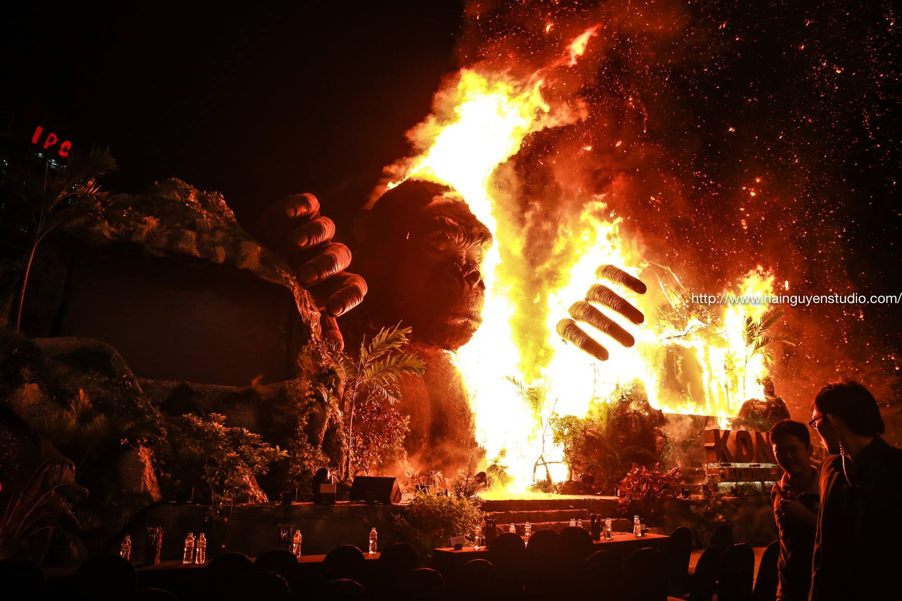 cháy Kong: Skull Island