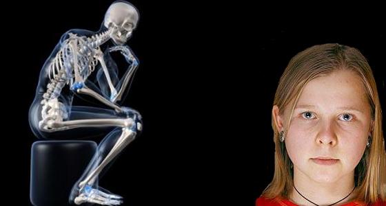 Natasha Demkina, cô gái được biết đến với khả năng thấu thị thân thể như một máy chụp X-quang (ảnh: internet)