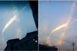 Điều kỳ diệu xảy ra trên bầu trời Hàn Quốc vào lúc trục vớt phà Sewol