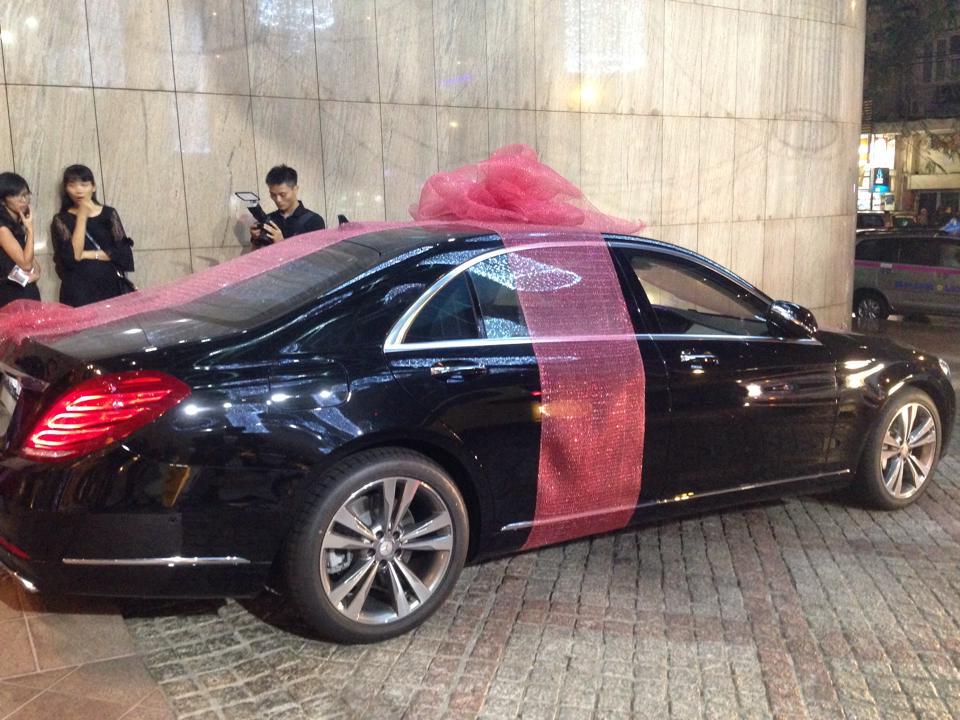 doanh nghiệp tặng xe