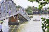 Truy tố chủ tàu và lái tàu đâm sập cầu Ghềnh ở Đồng Nai