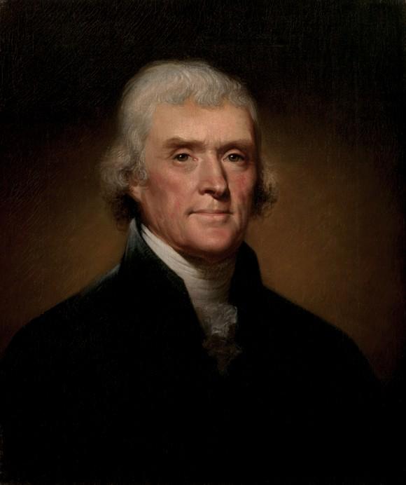 Tổng thống Mỹ Thomas Jefferson