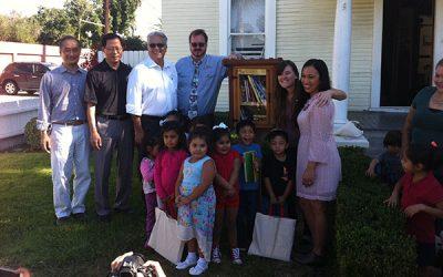 """thu vien 2 """"Thư viện miễn phí"""" trước cửa nhà một người Mỹ lan rộng đến hơn 70 quốc gia trên thế giới"""