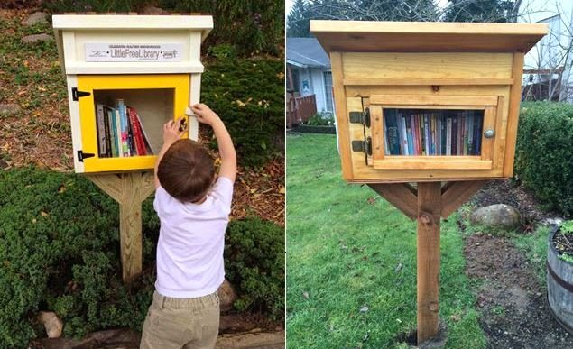 """thu vien mien phi 1 """"Thư viện miễn phí"""" trước cửa nhà một người Mỹ lan rộng đến hơn 70 quốc gia trên thế giới"""