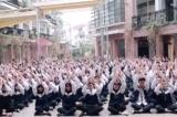 Hơn 3.000 học sinh trường Lương Thế Vinh hát chúc thầy Văn Như Cương mau bình phục