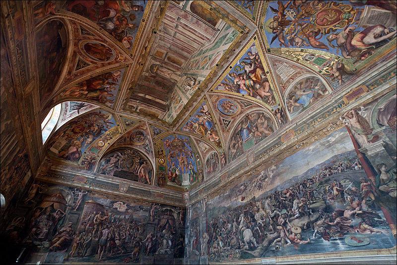 Tuyệt tác các căn phòng Raphael - Kỳ cuối: Câu chuyện về Constantine Đại đế