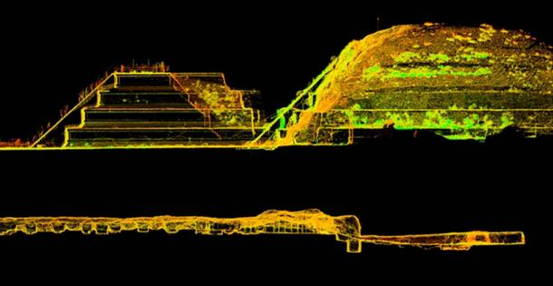 3D-laser-scan teotihuacan