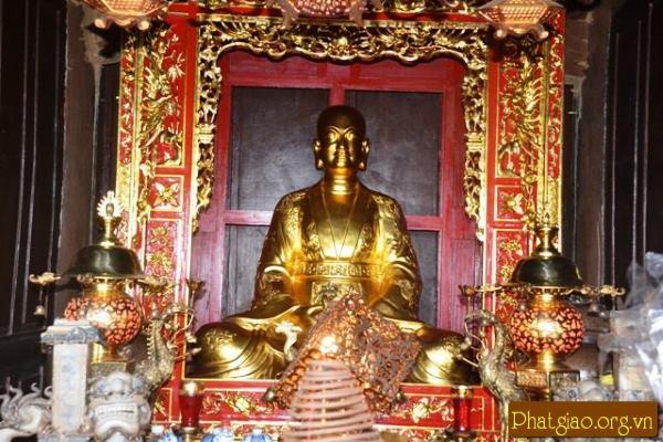 Đền thờ ông tổ nghề đúc đồng Nguyễn Minh Không (Ảnh: phatgiao.org)