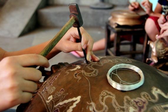 Kỹ thuật đúc đồng (Ảnh qua dodongdaibai.com)
