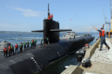 Tàu ngầm nguyên tử USS Michigan của Mỹ cập cảng Hàn Quốc