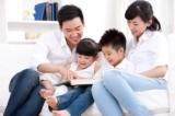"""""""Đọc sách là khoảng thời gian vui vẻ nhất của gia đình tôi"""""""