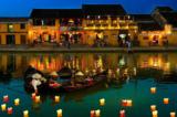 Phố cổ hội An: Ánh đèn lồng lấp lánh bên dòng sông Thu Bồn