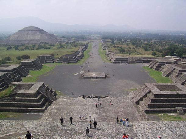 Teotihuacan, Mexico (ảnh: Public Domain)