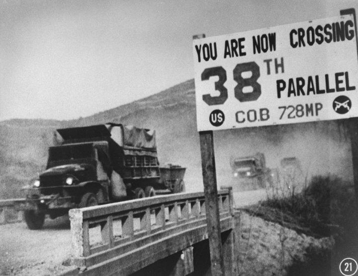 Vĩ tuyến 38 chia đôi đất nước Triều Tiên