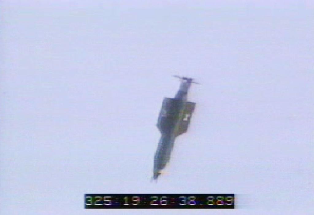 """""""Mẹ của các loại bom"""" được máy bay Mỹ thả xuống Afghanistan (Ảnh chụp video)"""