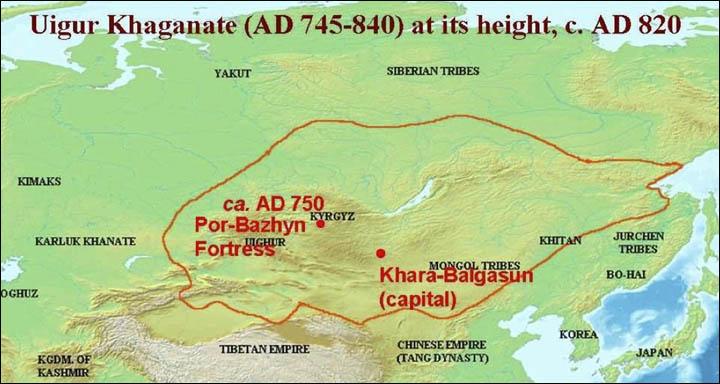 Vị trí của Por-Bajin trên bản đồ