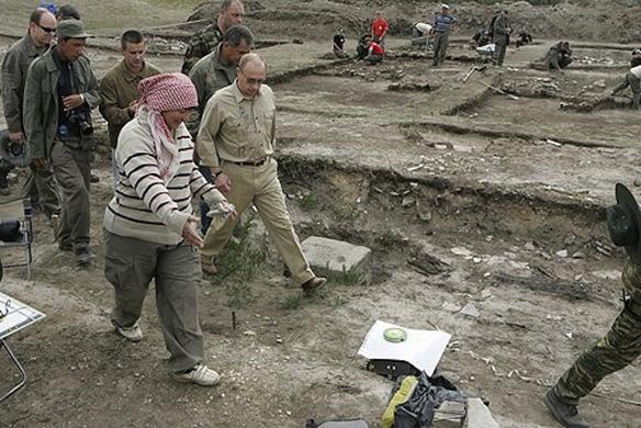 Tổng thống Putin đến thăm Por-Bajin năm 2007 (ảnh: Public Domain)
