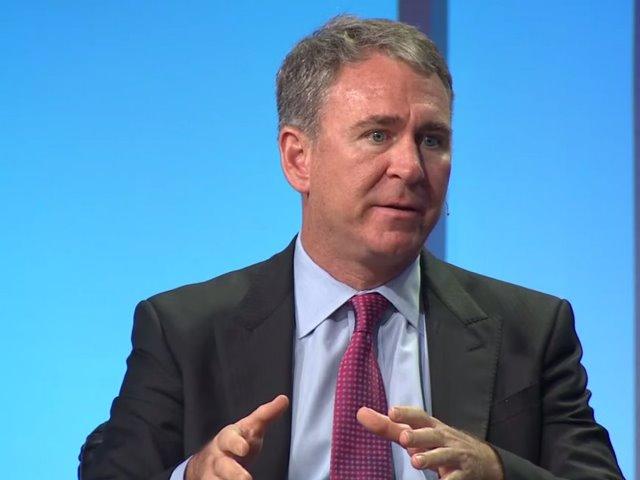 Ken Griffin, sáng lập viên và CEO của Quỹ đầu tư Citadel. (Ảnh chụp màn hình Youtube/Viện Milken)