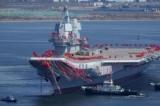 Trung Quốc hạ thủy hàng không mẫu hạm tự đóng đầu tiên