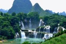 Cao Bằng: Quy hoạch 1.000 ha thác Bản Giốc thành trọng điểm du lịch