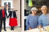 """Cặp vợ chồng U70 diện đồ đôi """"tông xuyệt tông"""" suốt 37 năm"""