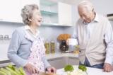 người sống thọ, vợ chồng, bữa trưa
