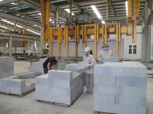Tro xỉ tại nhà máy nhiệt điện Phả Lại được xử lý thành tro bay làm phụ gia sản xuất gạch nhẹ AAC (ảnh: ddic.vn)